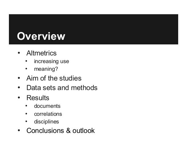 Tweets and Mendeley readers: Two different types of article level metrics Slide 2