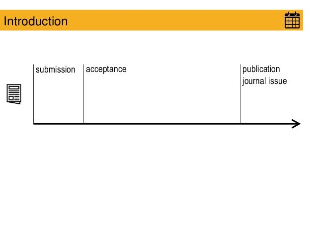 submission acceptance publication journal issue Introduction