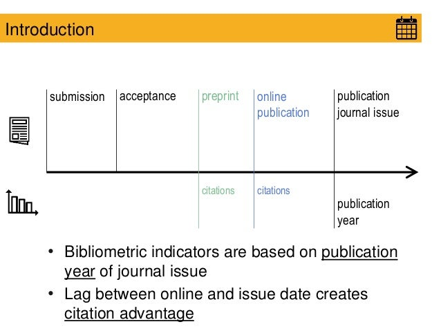 Journal publication date or online published date