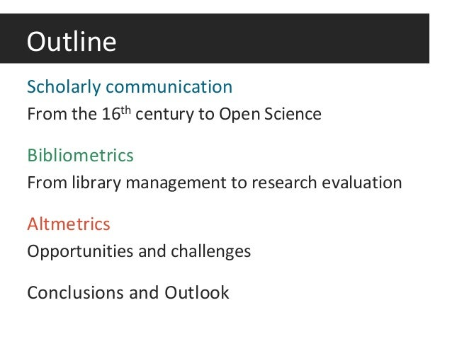 Haustein, S. (2017). The evolution of scholarly communication and the reward system of science Slide 2