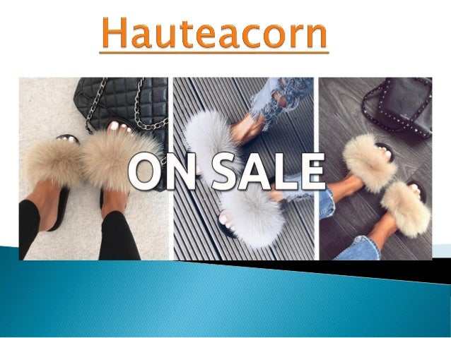 a5012fd3845 Hauteacorn fur heels fur beanies fur coat fur slides and black fur coat  hauteacorn