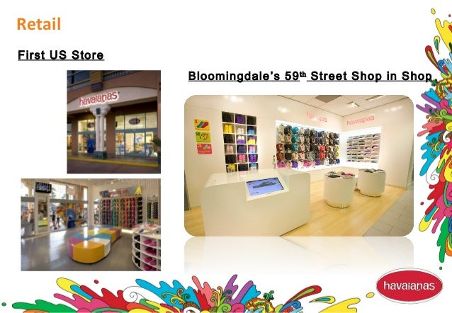 Retail First US Store Bloomingdale's 59th Street Shop in Shop