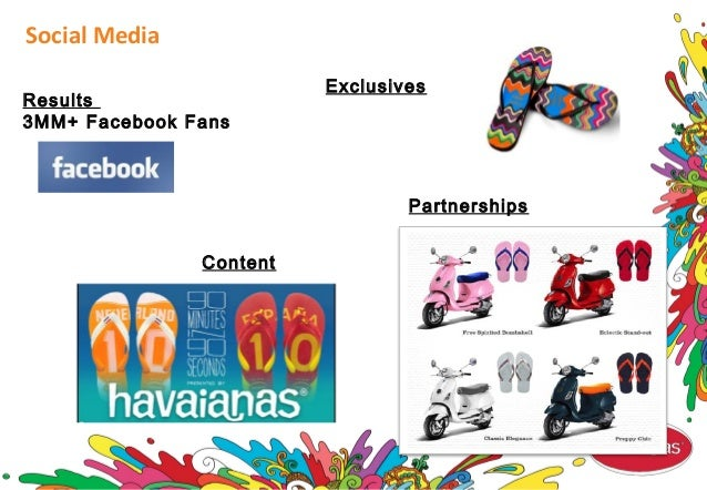 Social Media Results 3MM+ Facebook Fans Content Exclusives Partnerships