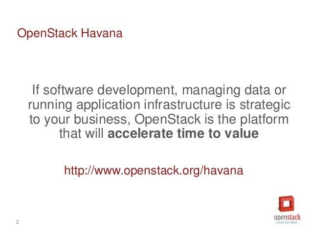 OpenStack Havana Release Slide 2