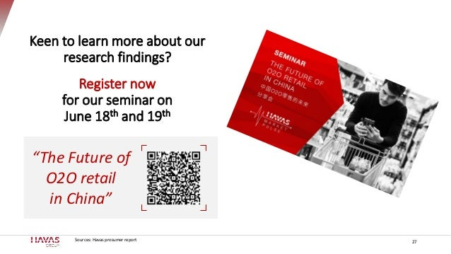 Sources: Havas prosumer report Keen to learn more about our research findings? Register now for our seminar on June 18th a...