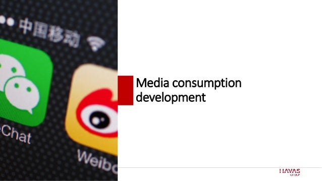 28 Media consumption development