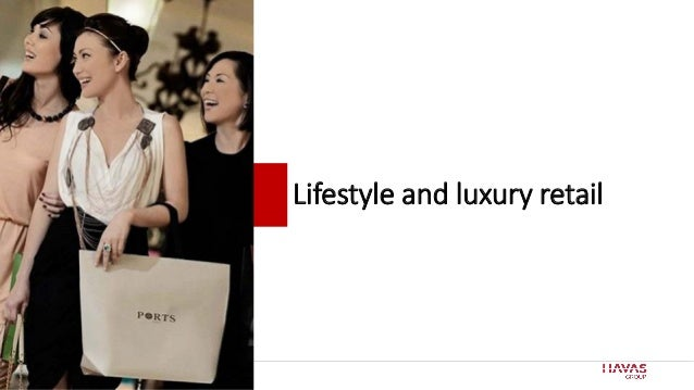 60 Lifestyle and luxury retail