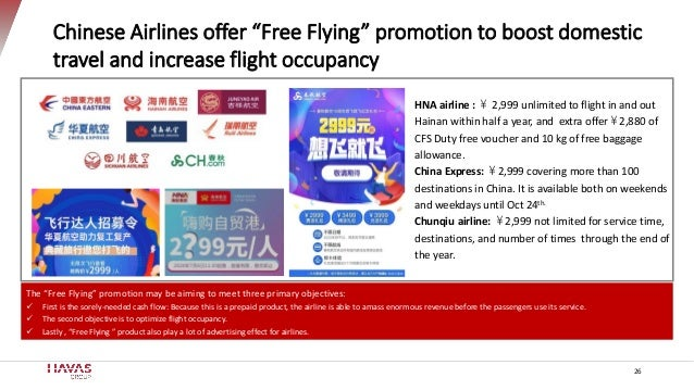 """The """"Free Flying"""" promotion may be aiming to meet three primary objectives: ✓ First is the sorely-needed cash flow: Becaus..."""