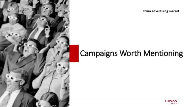 70 Campaigns Worth Mentioning China advertising market