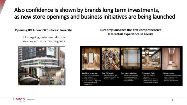 Also confidence is shown by brands long term investments, as new store openings and business initiatives are being launche...