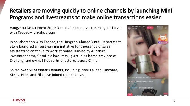 Retailers are moving quickly to online channels by launching Mini Programs and livestreams to make online transactions eas...