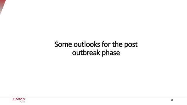 13 Some outlooks for the post outbreak phase