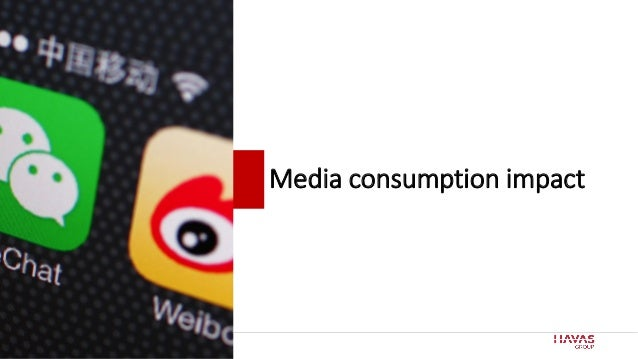 17 Media consumption impact