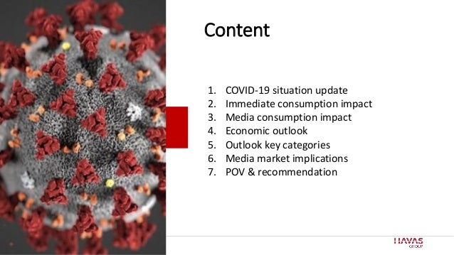 2 Content 1. COVID-19 situation update 2. Immediate consumption impact 3. Media consumption impact 4. Economic outlook 5. ...
