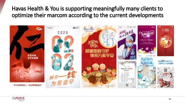 Havas Health & You is supporting meaningfully many clients to optimize their marcom according to the current developments ...