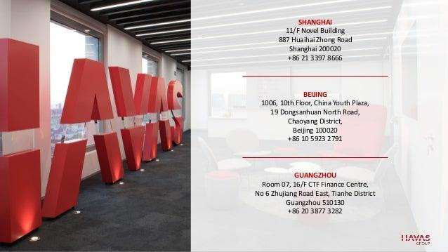 SHANGHAI 11/F Novel Building 887 Huaihai Zhong Road Shanghai 200020 +86 21 3397 8666 GUANGZHOU Room 07, 16/F CTF Finance C...