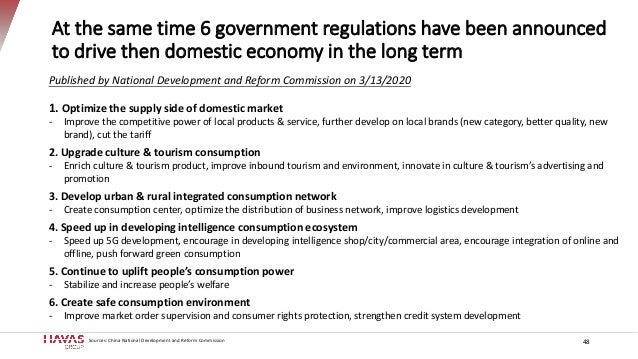 At the same time 6 government regulations have been announced to drive then domestic economy in the long term 48 Published...
