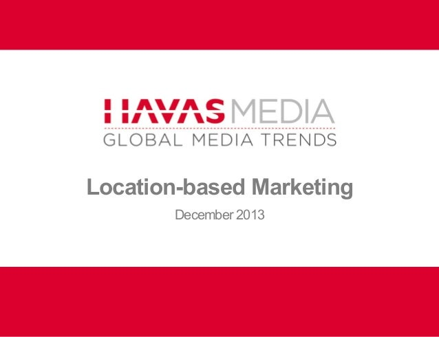 Location-based Marketing December 2013