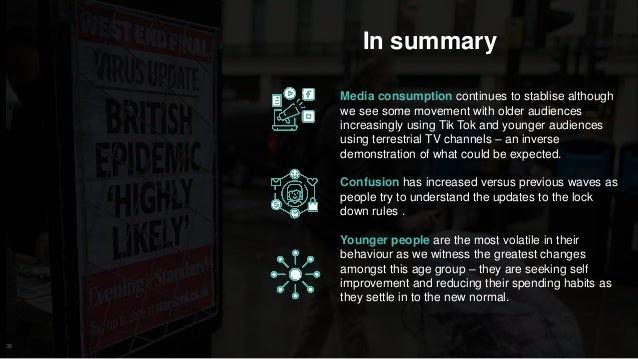 36 In summary Media consumption continues to stablise although we see some movement with older audiences increasingly usin...