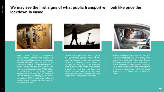 LIFESTYLE We may see the first signs of what public transport will look like once the lockdown is eased _8 New York City's...