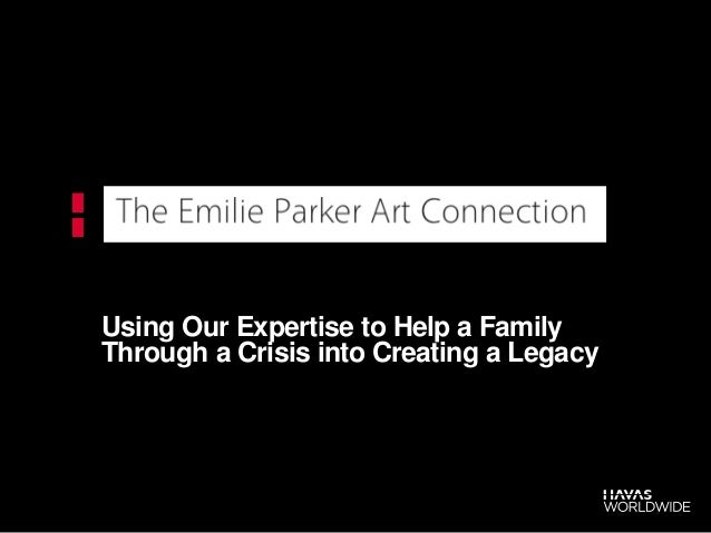 Using Our Expertise to Help a Family Through a Crisis into Creating a Legacy
