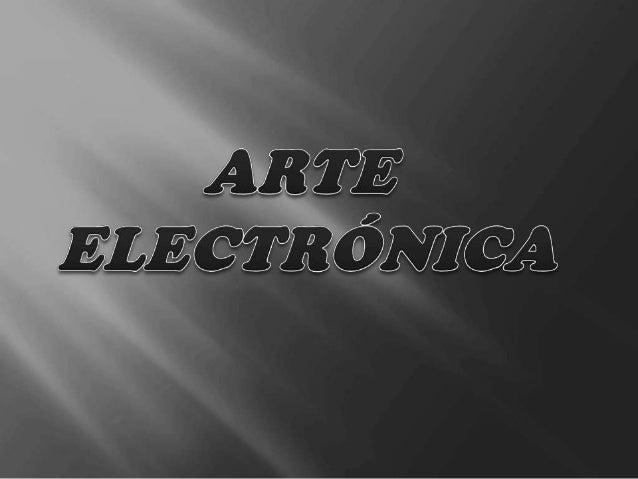           Esta arte surgiu com as novas tecnologias, como os computadores e as redes de comunicação, sendo possível....