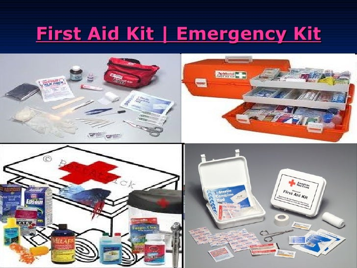 First Aid Kit | Emergency Kit