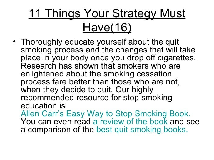 how to help someone stop smoking