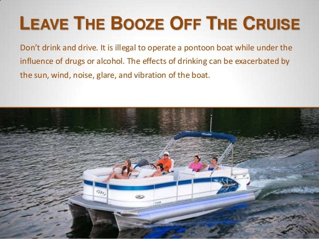 Enjoy Responsibly Be Have Safe Pontoon Fun Boat amp; Your