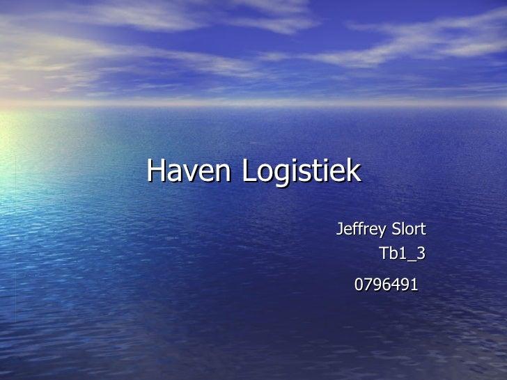 Haven Logistiek Jeffrey Slort Tb1_3 0796491