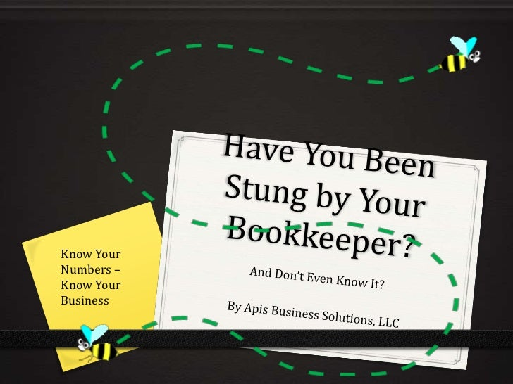 Know YourNumbers –Know YourBusiness