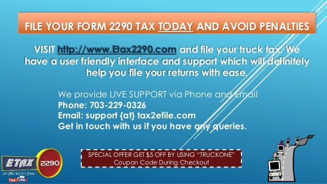 what is a 2290 tax form