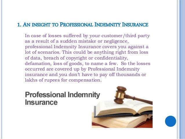 Have you got your business professional indemnity insurance?