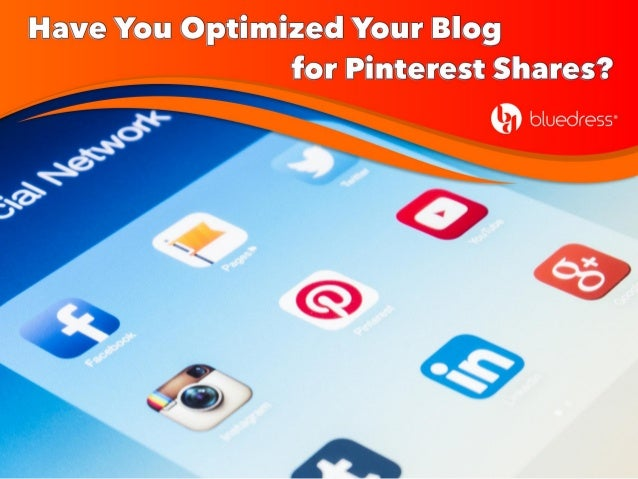 Optimizing blog posts for Pinterest makes it easier for people to share your posts by pinning them to relevant boards. It ...