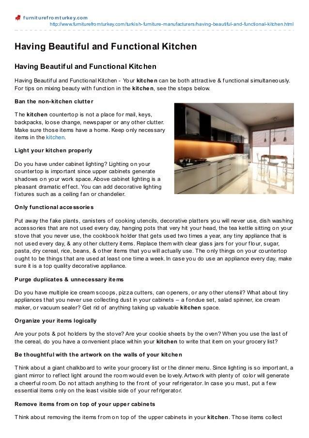 f urnit uref romt urkey.comhttp://www.furniturefromturkey.com/turkish-furniture-manufacturers/having-beautiful-and-functio...