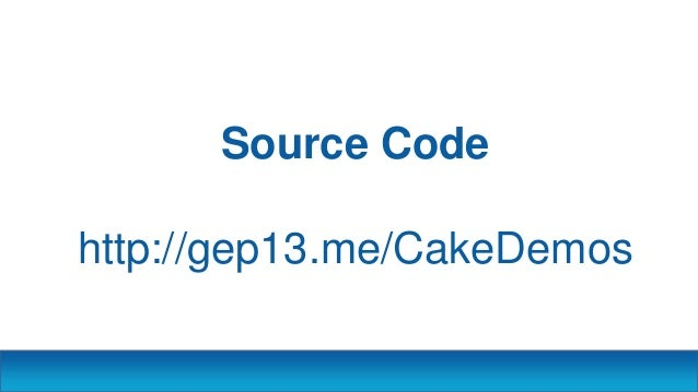 A Piece of Cake - DDD North