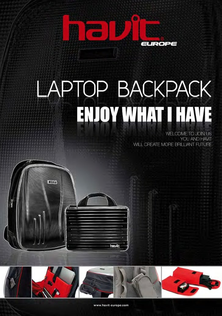 Havit europe collection élégante de cartable pc et netbook