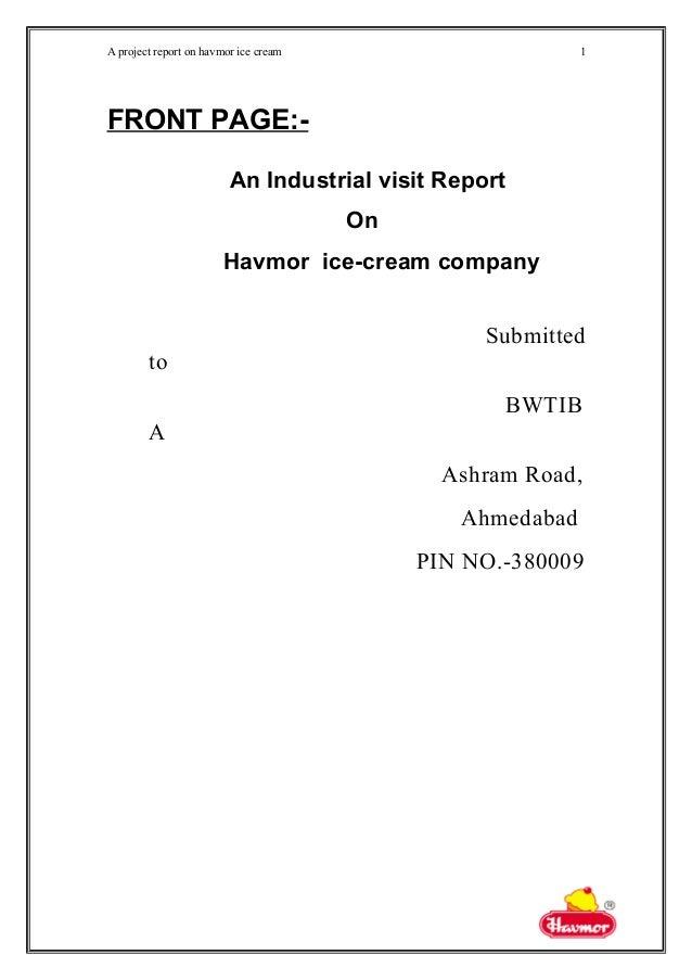 havmor report