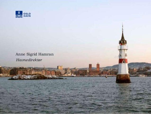 Anne Sigrid Hamran Havnedirektør