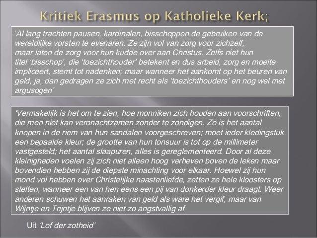 Citaten Uit Lof Der Zotheid : Erasmus en het humanisme