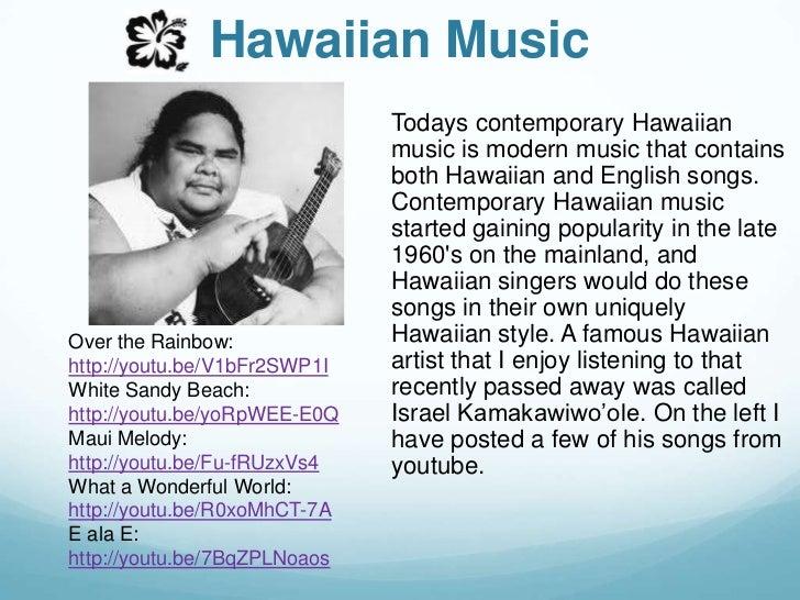 modern hawaiian music