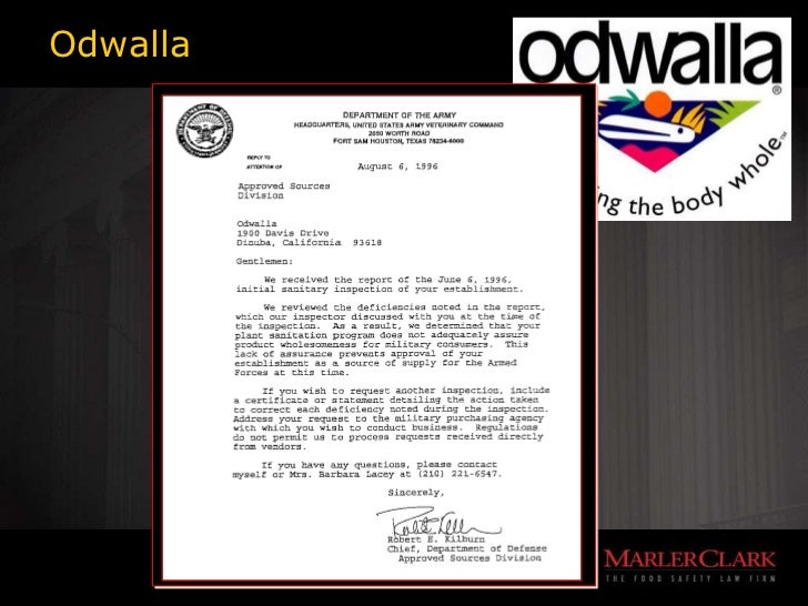 odwalla memo Zheyuan zhang, #912960794 due by mon 02/10/14 bus 682-07 memo assignment 3 1 i believe odwalla was atin partial fault for the outbreak primarily, people.
