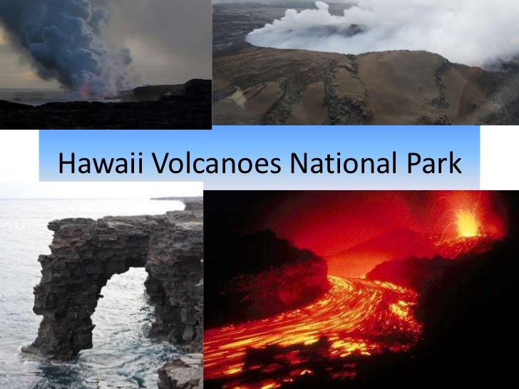 Hawaii Volcanoes National Park<br />