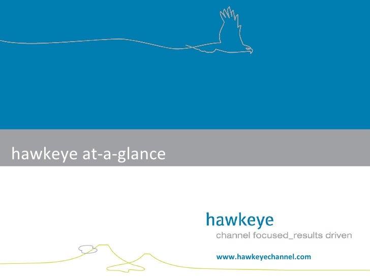 hawkeye at-a-glance