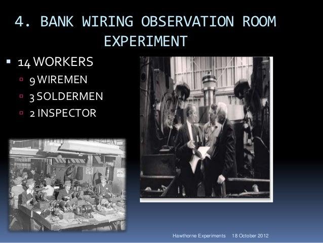 hawthrone studies explained rh slideshare net Observation Room Charges Observation Room Sign