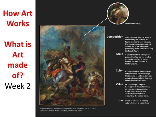 How Art Works What is Art made of? Week 2