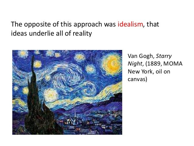 formal analysis of starry night The night sky depicted by van gogh in the starry night painting is brimming with whirling clouds, shining stars, and a bright crescent moon the ().