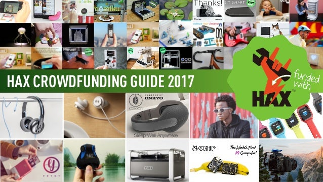 HAX CROWDFUNDING GUIDE 2017