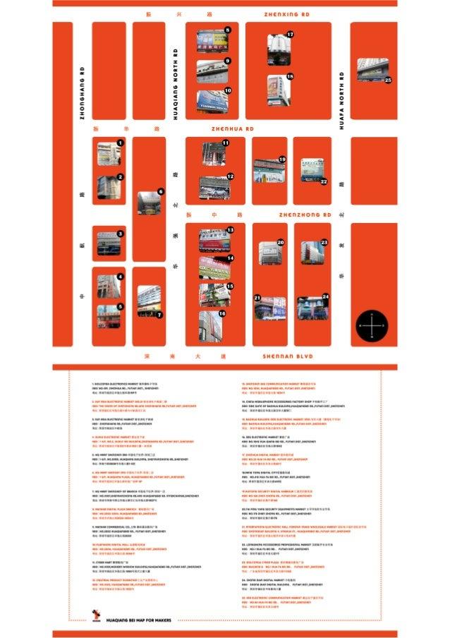 Hua Qiang Bei Map Slide 2