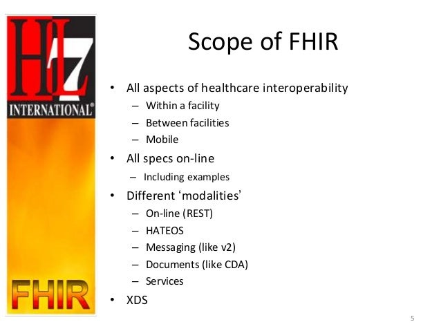 An Introduction to HL7 FHIR